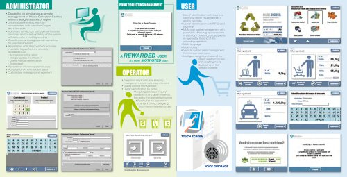 ECODIADE - Software for Collection Centres management