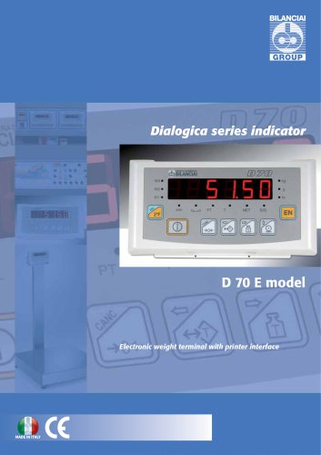 Electronic terminal D70E