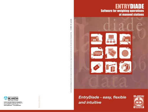 ENTRYDIADE - Software for weighing operations at manned stations