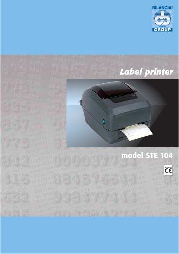 Label Printer STE 104