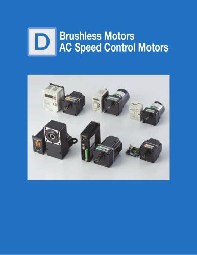 Brushless Motors AC Speed Control Motors
