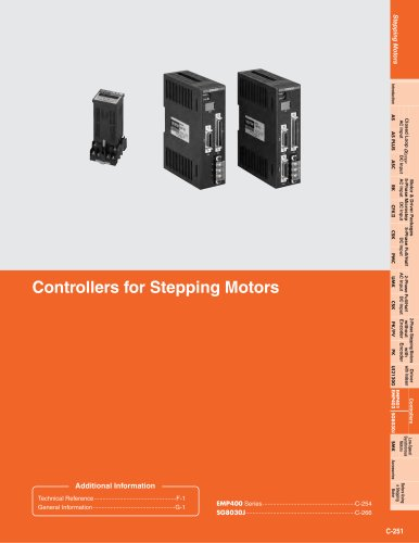 Controllers for Stepping Motors