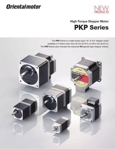 High-Torque Stepper Motor PKP Series