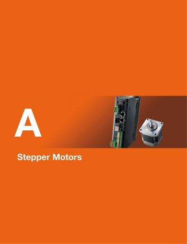 Overview and Product Line of Stepper Motors
