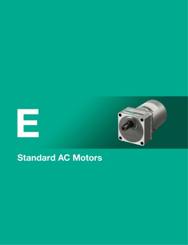 Overview of Standard AC Motors