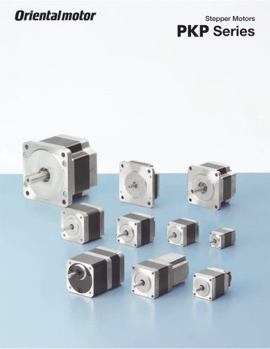 PKP Series Stepper Motors - CVD Series Stepper Motor Drivers*