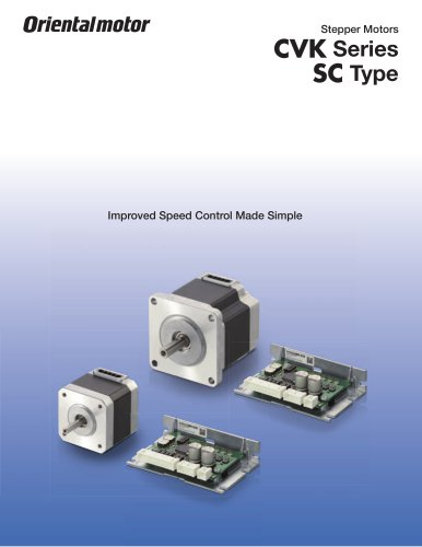 Speed Control Stepper Motors - CVK-SC Series*