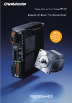 Closed Loop Stepper Motor and Driver Package with Absolute Sensor - AZ Series