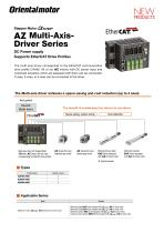 Multi Axis Driver for AZ Motors with DC-Input