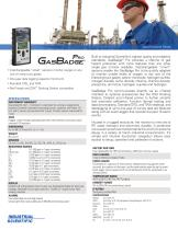 Gasbadge Pro (Specifications)