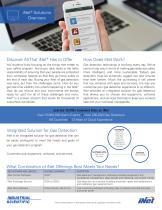 iNet - Solutions overview