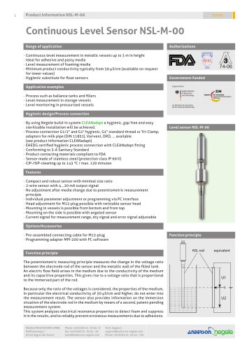 Product info NSL-M