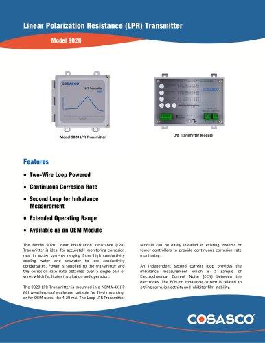 Linear Polarization Resistance (LPR) Transmitter