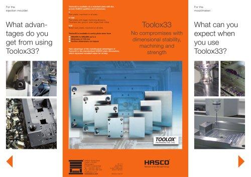 Toolox33 - HASCO - PDF Catalogs | Technical Documentation