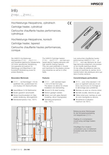 Z 110 Z111 - HASCO - PDF Catalogs | Technical Documentation