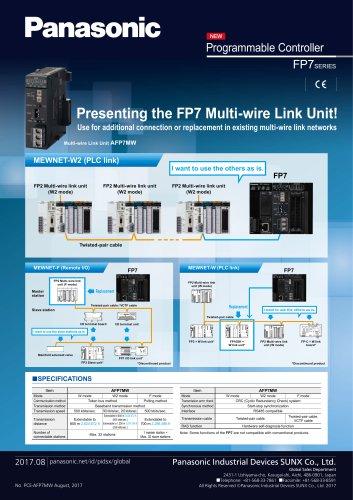 AFP7MW [Multi-wire link unit]