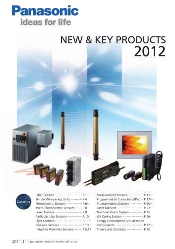NEW & KEY PRODUCTS 2012