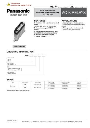 AQ-K Catalog