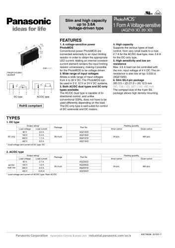 AQZ SIL Voltage Sensitive Catalog