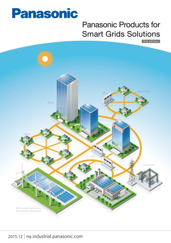 Panasonic Panasonic Products for Smart Grids Solutions