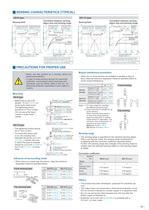 rectangular inductive proximity sensor gx-f/h series catalog - 11