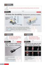 rectangular inductive proximity sensor gx-f/h series catalog - 6