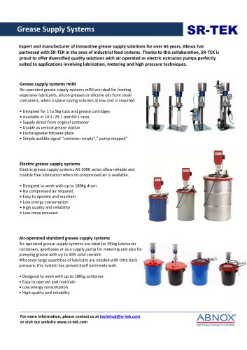 Grease Supply Systems