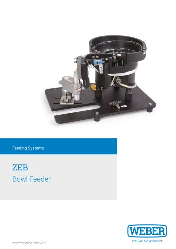 Bowl-Feeder for Screwdriving and Assembly-Systems - ZEB