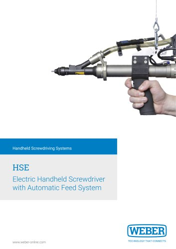 Electric Handheld Screwdriver with automatic Feeding-System - HSE