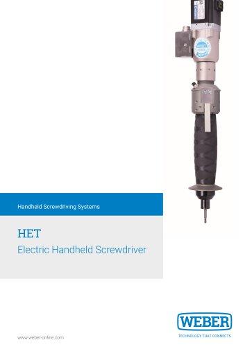 Electric Handheld Screwdriver - HET