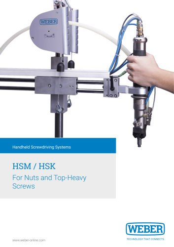 Electric Handheld Screwdriver for Nuts and head-heavy Screws - HSM/K
