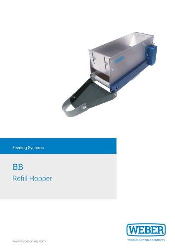 Refill Hopper for bulk-material - BB