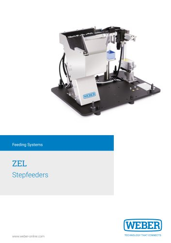 Stepfeeder for Screwdriving and Assembly-Systems - ZEL