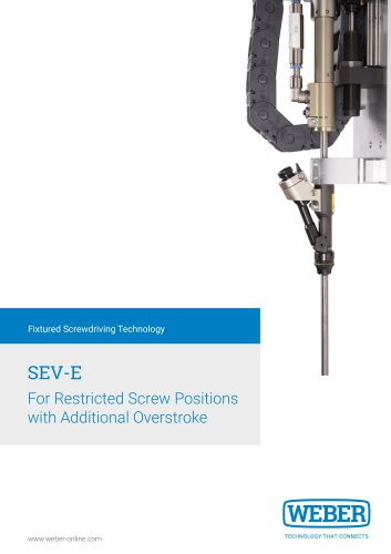 Vaccum Spindle with extra long Hub for restricted Screw Positions - SEVE