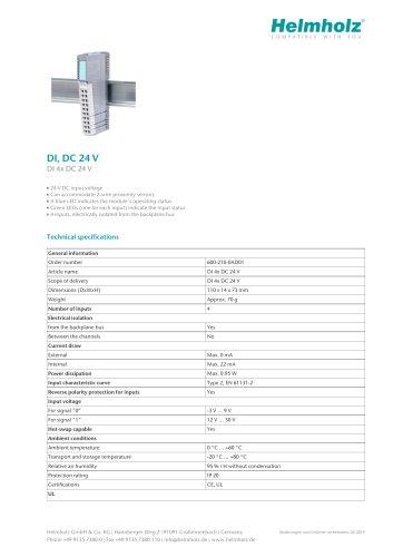 DI 4x DC 24 V