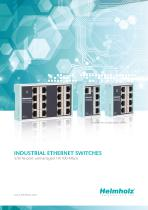 INDUSTRIAL ETHERNET SWITCHES - 5/8/16-port unmanaged 10/100 Mbps