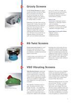 Overview vibrating screen - 3