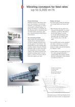 Vibration conveyors - 4