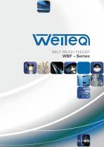 Weiteq WBF belt weigh feeder - 1