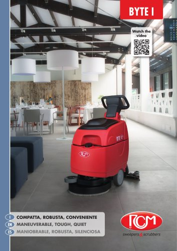 Scrubber drier BYTE I
