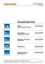 DICTATOR Damping engineering