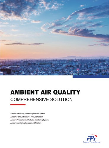 Ambient Air Quality Monitoring System