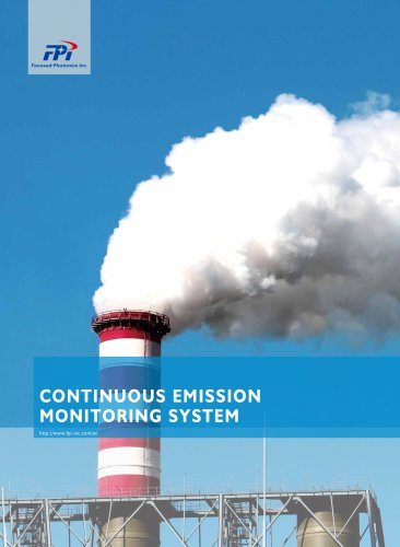 FPI CEMS-2000 series HCl. HF, NH3,CO,CO2,SO2,NO,NO2,O2 analyzer continuous emission monitoring system