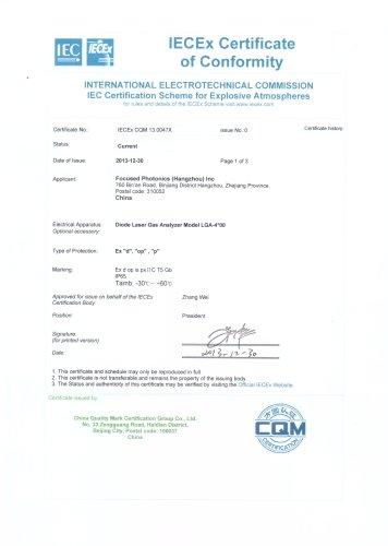 FPI IECEx Certificate
