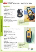 V&A Luxmeter/Infrared Temperature and Thermocouple Meter VA8050/VA8090 Environmental testing