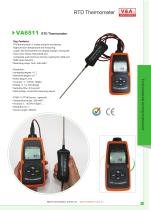 V&A RTD Thermometer VA6511 Environmental Products