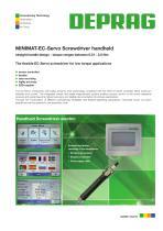 D 3496 – MINIMAT-EC-Servo screwdriver handheld - 1