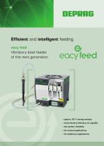 eacy feed – Vibratory bowl feeder of the next generation - 1