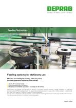 Feeding systems for stationary use