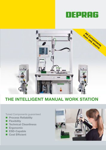 Flyer The intelligent manual work station